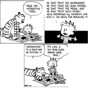Calvin Hobbes Civility