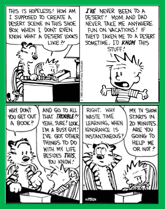 Calvin & Hobbes: Ignorance 2